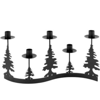 Kerzenständer | Kerzenhalter Adventskranz STRATO Kaheku Breite 40 cm