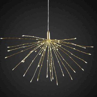 Led Sputnik Tropfenhänger Gold O 50 Cm 324x324