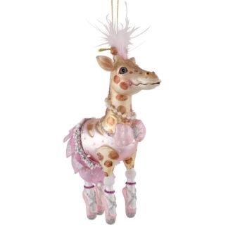 Weihnachtsbaumschmuck GIRAFFEN BALLERINA GiftCompany H 14 cm