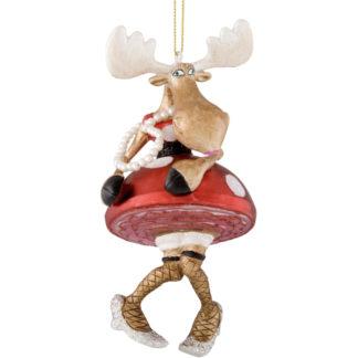 Weihnachtsbaumschmuck MRS. BOOGIE RUDI GiftCompany H 15 cm