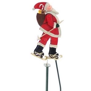 Weihnachtsdeko Kaheku Pendelfigur Ilva Schlittschuhe H 34 Cm