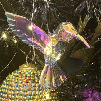 Weihnachtsbaumschmuck 3er SetBIRDS KOLIBRI GiftCompany H 12 cm