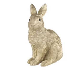 OSTERHASE GiftCompany gold H 20,3 cm