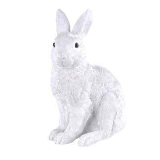OSTERHASE GiftCompany weiß H 20,3 cm