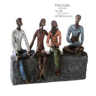 Skulptur NETWORK Casablanca B 26 cm