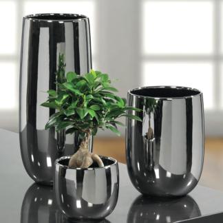 Vase CABONA Kaheku hochglänzend H 37 | 27 | 18 cm