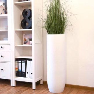Bodenvase CORINNE weiß matt H 80 | 100 cm