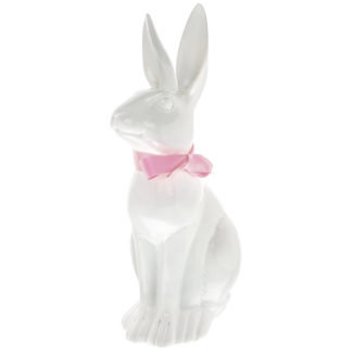 Osterhase FRAU SCHMIDT GiftCompany weiss H 80 cm