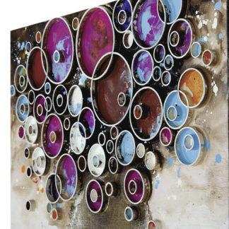 Leinwandbild auf Keilrahmen BLUMENSTRAUSS 60 x 60 cm