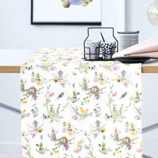 Tischläufer HAPPY EASTER 6445 Apelt 42 x 140 cm