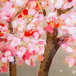 "Leinwandbild auf Keilrahmen ""CHERRY TREE"" Casablanca 70 x 140 cm"