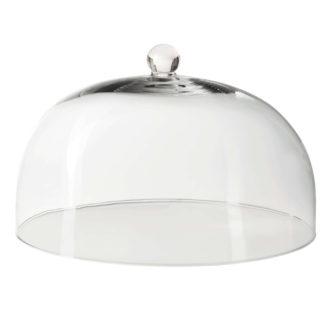 Glasglocke ASA ø 34 cm H 22,5 cm