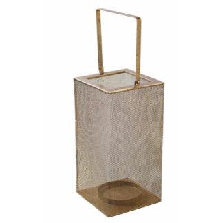 Windlicht METALL LATERNE gold H 18 | 44 cm