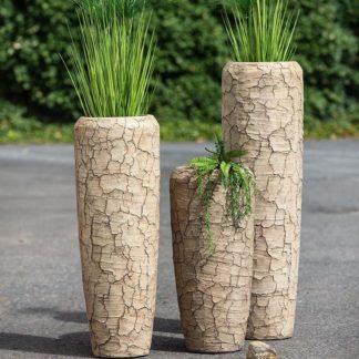 Bodenvase CREPA Casablanca Zementoptik natur broken H 75 | 97 | 117 cm