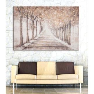 "Leinwandbild auf Keilrahmen ""SONNIGE ALLEE"" Casablanca 150 x 100 cm"