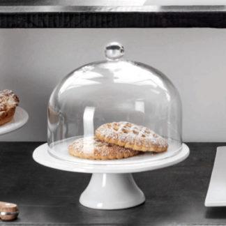 Tortenplatte ø 29,0 cm | Glasglocke ø 28,0 cm ASA