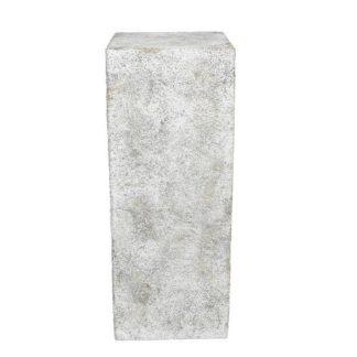 Säule ROCK Casablanca grau gewischt H 70 cm