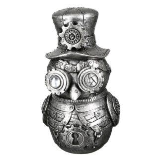 Skulptur STEAMPUNK OWL Casablanca H 23 cm