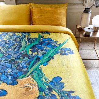 Beddinghouse Bettwäsche Van Gogh Museum IRISES YELLOW 135x200 cm