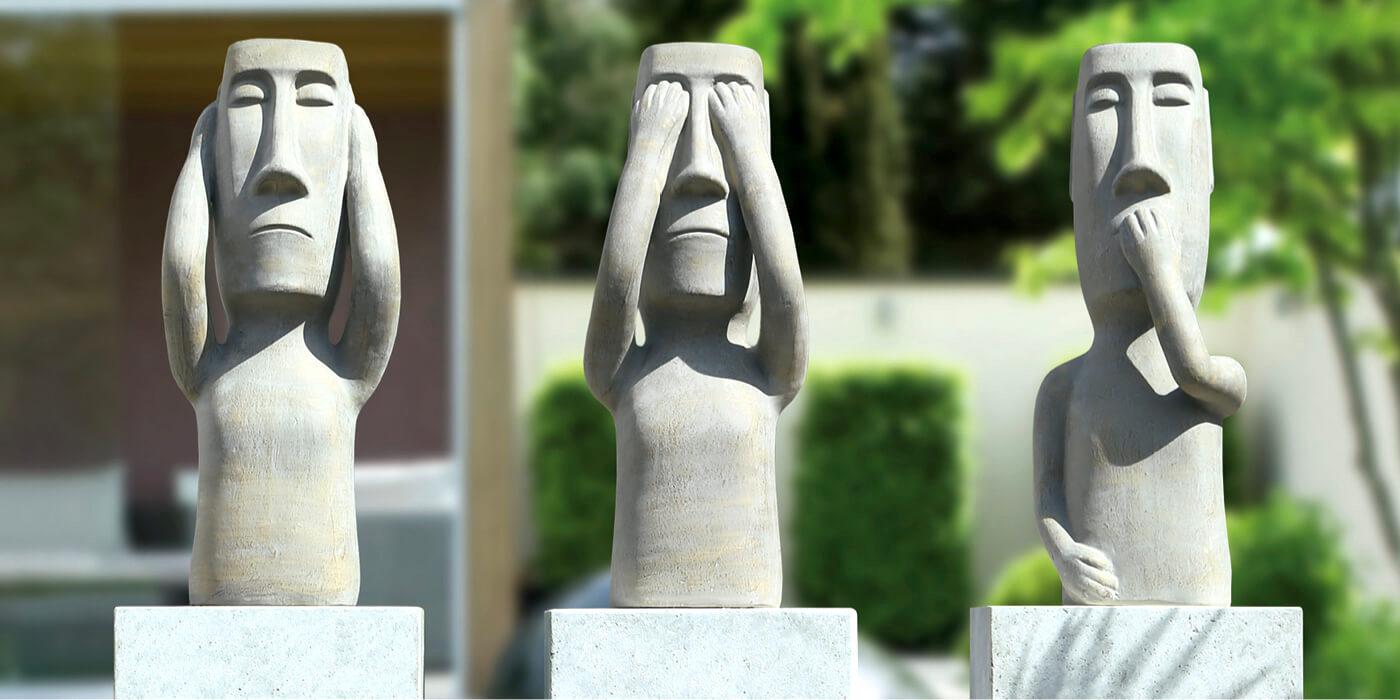 Gartenfiguren, Buddhafiguren & Steinfiguren