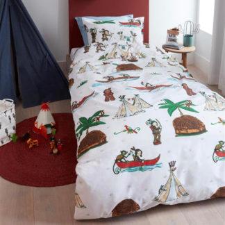 Kinderbettwäsche 135x200 cm WIGWAM multi Beddinghouse Kids