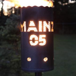 Gartenfackel FSV MAINZ 05 H 30 cm