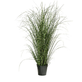 Kunstblume GRAS SPOTS im Topf grün H 75 cm