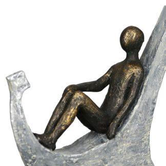 Skulptur ANKER Casablanca bronze H 25 cm