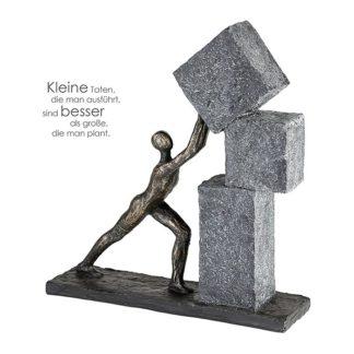 Skulptur STACKING Casablanca H 30,5 cm