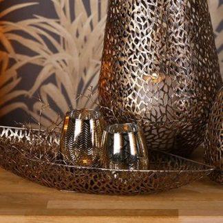 Schale PURLEY Casablanca antikgold B 80 | 60 cm