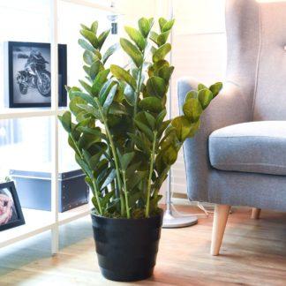Kunstpflanze ZAMIOCULCAS im Topf H 86 cm