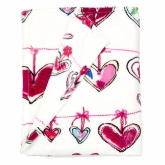 Tagesdecke | Kuscheldecke Beddinghouse GARLAND pink Bettüberwurf 130x170 cm