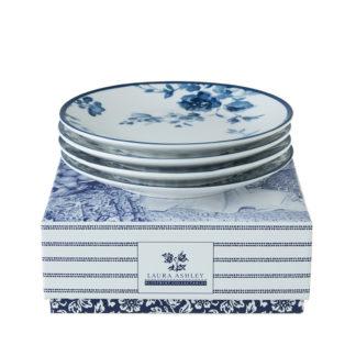 Petit Four LAURA ASHLEY China Rose ø 12 cm 4er Set