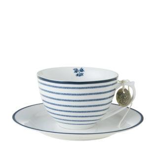 Cappuccinotasse | Espressotasse LAURA ASHLEY Candy Stripe