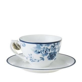 Cappuccinotasse LAURA ASHLEY China Rose