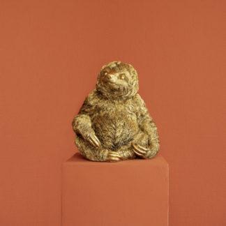 Dekofigur FAULTIER FLASH Werner Voss bronzefarben H 28 cm