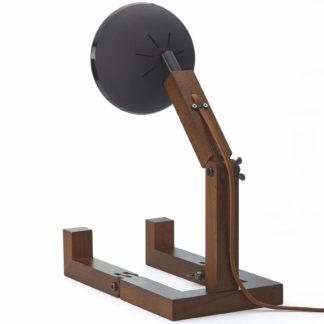 Design Tischlampe Limited Edition MR. WATTSON Lampe Matt Black Piffany Copenhagen aus Eschenholz H 40 cm