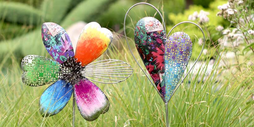 Gartenstecker & Gartenfiguren