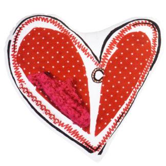 Herzkissen Beddinghouse Kids HEART DOTS pink 43x43 cm