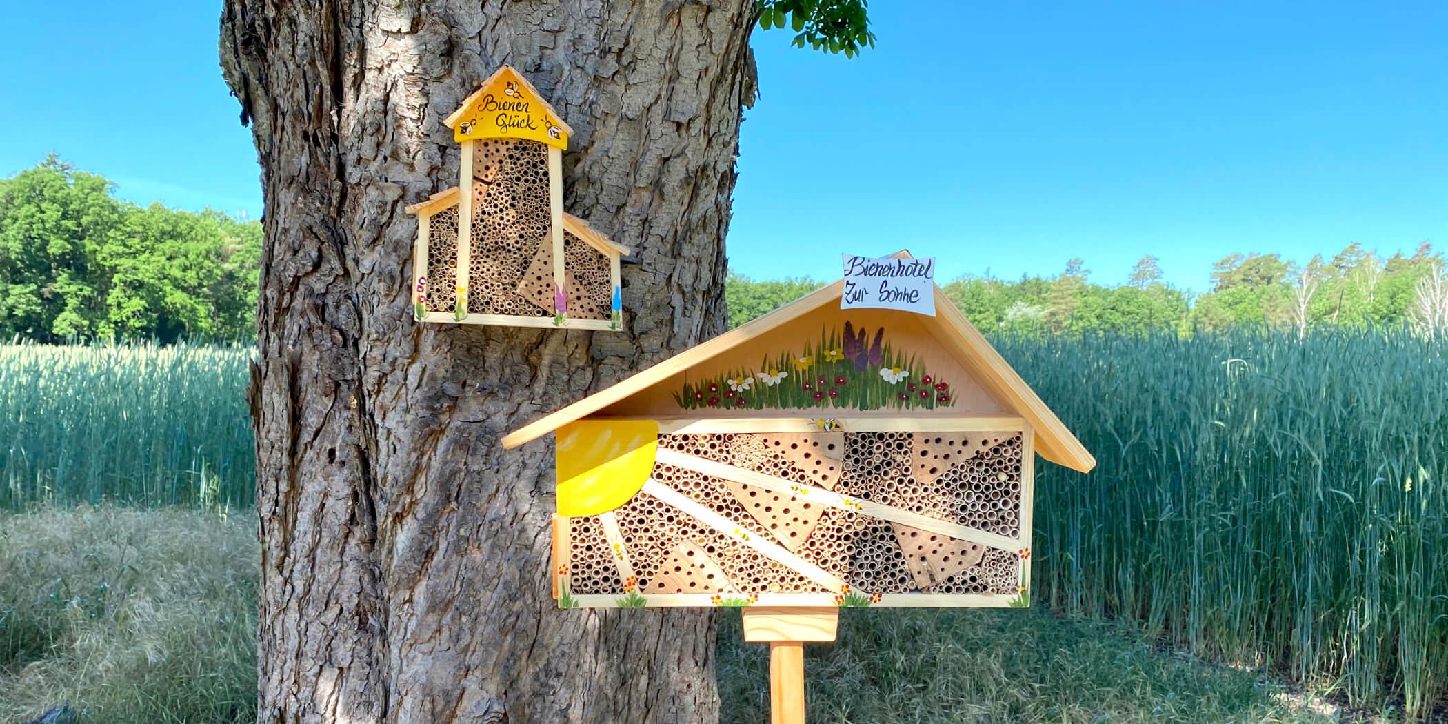 Insektenhotels & Bienenhotels