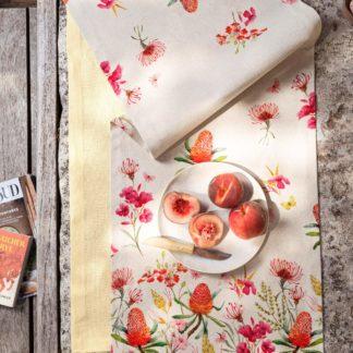 Tischläufer Magma CALEO pink 40x145 cm