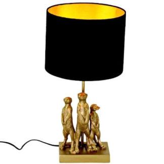 Tischlampe ERDMÄNNCHEN Werner Voss H 50 cm
