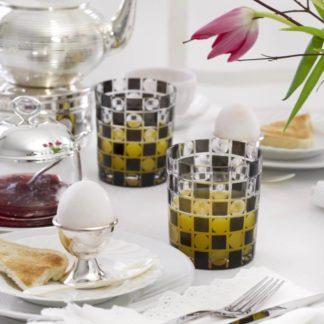 4er Set Gläser | Kristallgläser schwarz DIEGO Edzard 0,3 l