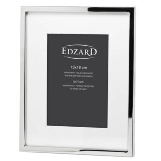 Fotorahmen RIVOLI Edzard edel versilbert für Foto 13x18 cm anlaufgeschützt