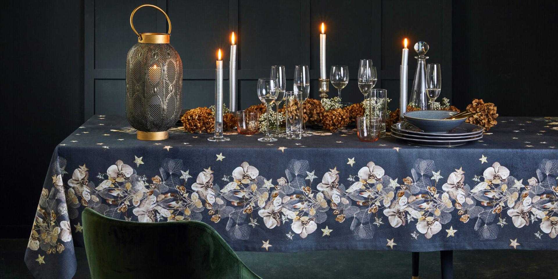 Kissen und Tischdecken Herbst