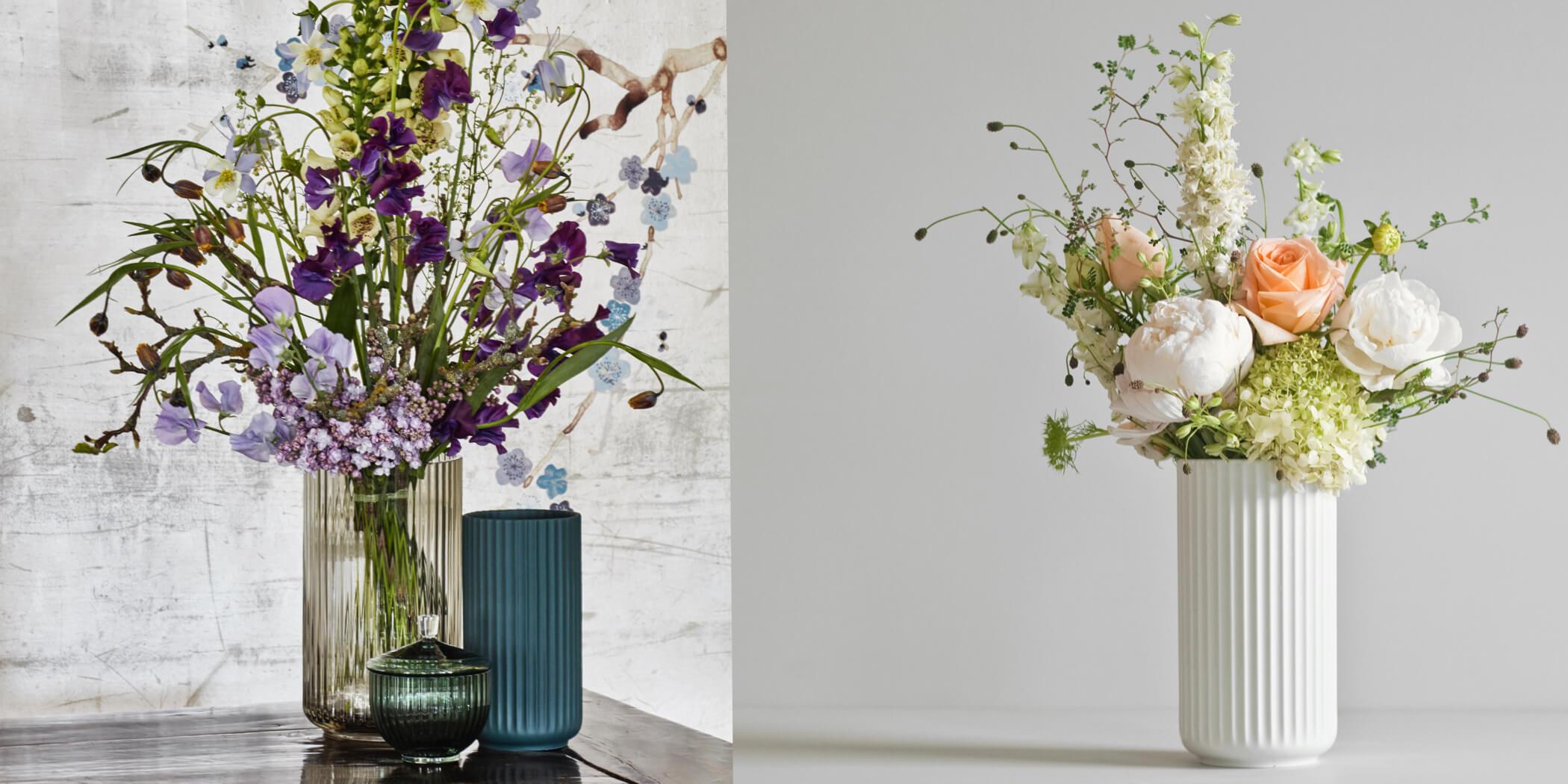 Lyngby Vase Glas & Porzellan