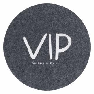 Tischset   Platzset   Platzdeckchen Magma Avaro anthrazit VIP ø 38 cm