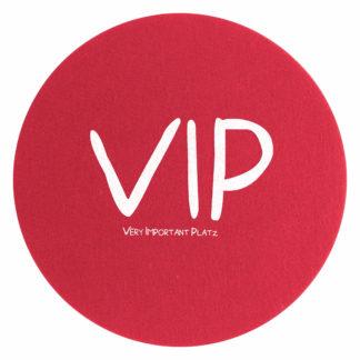 Tischset | Platzset | Platzdeckchen Magma Avaro rot VIP ø 38 cm