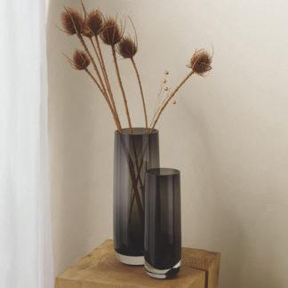 Vase AJANA ASA ø 8,0 | H 29 cm | ø 10,5 | H 29 cm grau