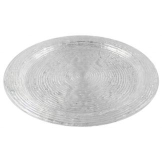 Glasteller | Dekoteller WAVE Kaheku ø 32 cm